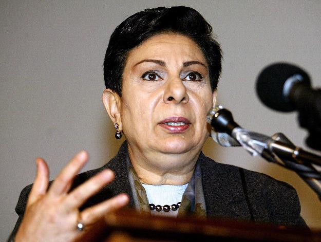 Dr Hanan Ashrawi