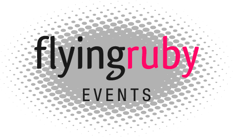 A4 Flying Ruby Logo for PPT