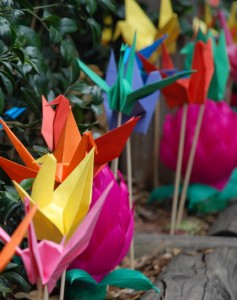 Paper Cranes of Peace Day