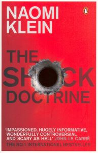 The shock doctrine - cover