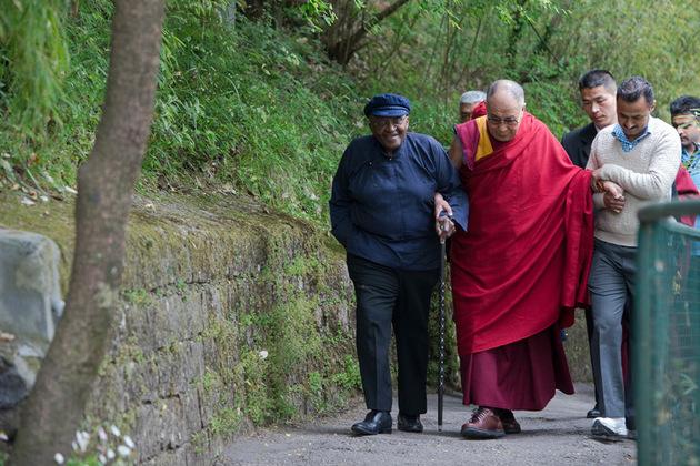 Tutu and Dalai Lama
