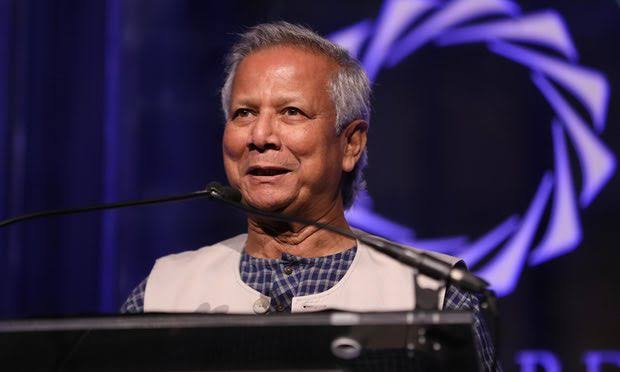 Professor Muhammad Yunus. Photo credit - Getty Images