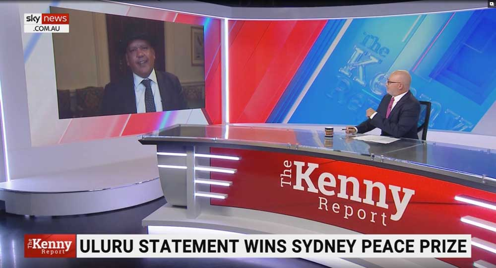 Chris Kenny interviews Noel Pearson about Uluru Statement from the Heart on Sky News